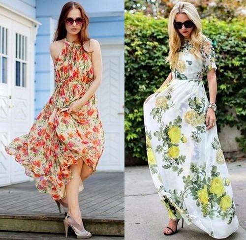 модные платья макси1
