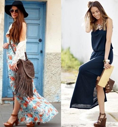 модные платья макси2