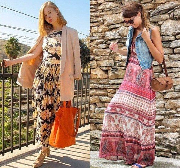 модные платья макси3