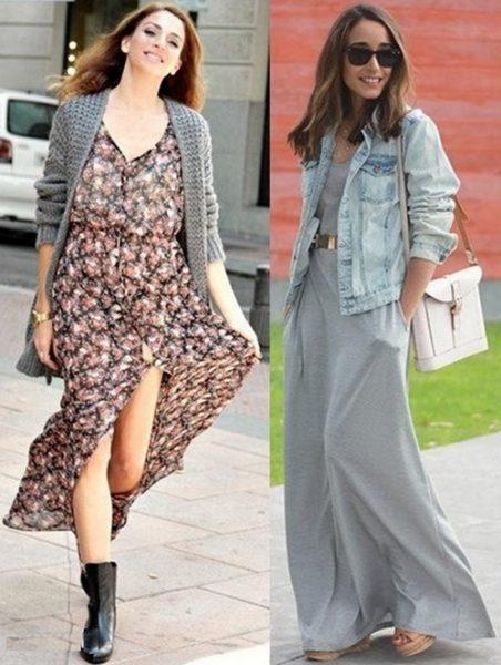 модные платья макси4
