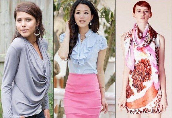 стили женской одежды2